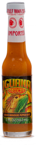 Iguana Deuces Bold Gold Habanero Pepper Sauce - ON SALE!