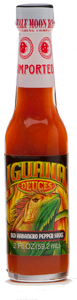 Iguana Deuces Rockin' Red Habanero Pepper Sauce