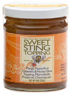 SweetSting Mango Passionfruit Glaze Topping - ON SALE!