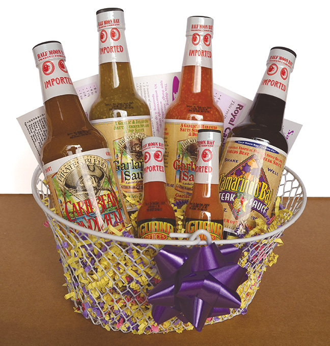 Pirates Blend - Tropical Condiments Gift Basket