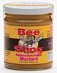 BeeSting Brand Rainforest Honey Papaya Mustard