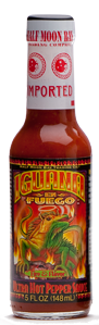 Iguana En Fuego Ultra Hot Pepper Sauce